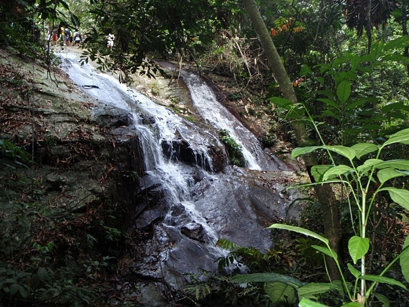 Lata Tampit Waterfalls, a place to visit in Janda Baik