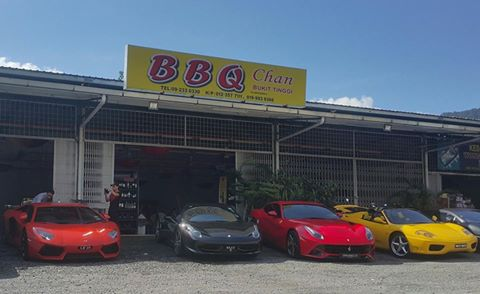 Restaurant BBQ Chan, a place to visit in Janda Baik